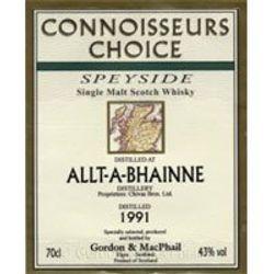 ALLT-A-BHAINNE 1991 CONN CHOICE
