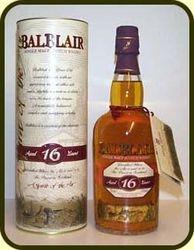 BALBLAIR 16Y OLD SINGLE MALT