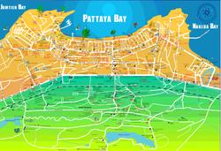 Pattaya Map 2004