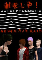 Seven Day Raid- Concert Poster