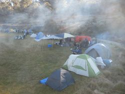 The smoke haze