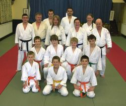 Sensei Reveley 5th Dan