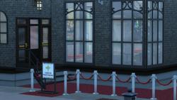 back area Red Carpet entrance