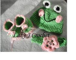 Frog Baby Set