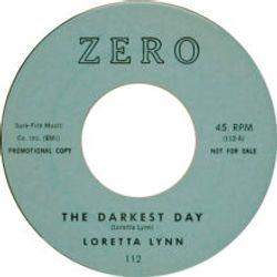 The Darkest Day ZERO LABLE 1961
