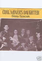 Coal Miner's Daughter Movie Pic Sleeve 45