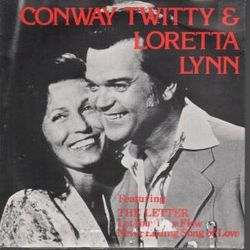 Conway and Loretta The Letter German EP 1978