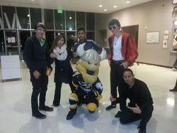 Stockton Thunder Hockey Game