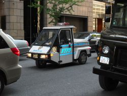NYPD Buggy Patrol