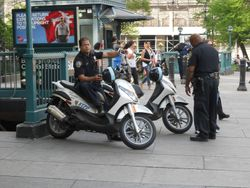 NYPD Scooter Patrol