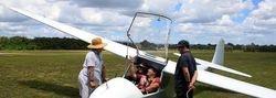 Rodda's first flight in a Kooka