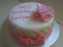 Pink and White Cake(SP055)