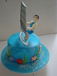 Avid Wind-Surfer Cake(SP057)