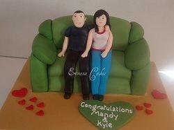 Bridal Shower Cake(SP025)