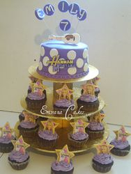 Hanna Montana Cupcakes
