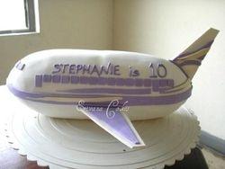 Air Plane Cake 2 (B111)