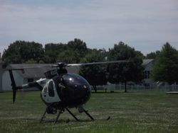 St Louis County Police Helicopter