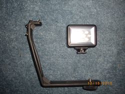 LED light and attachment