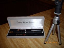 Laser Pin An Stand
