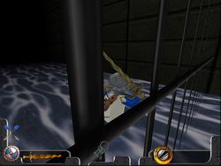 Behind bars in Dungeons