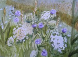 Queen Anne's Lace and Chicory