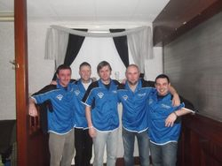 The Glenpark Darts Team