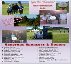Thanks to all of our generous sponsors and donors!