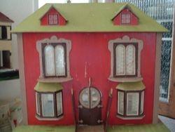 Original Victorian dolls house c1900.