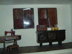 Parlor window area.