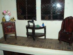 Bedroom window area.