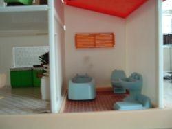 Blue box house
