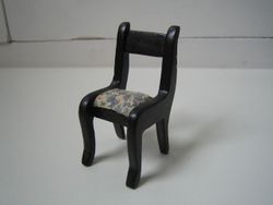 Chair (painted light wood)