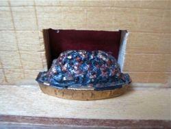 barton fireplace : coal