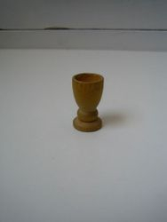 A wooden cup