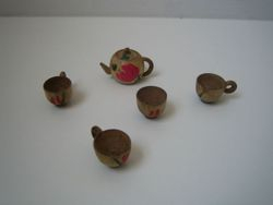 Wooden teaset (Fairylite ?)
