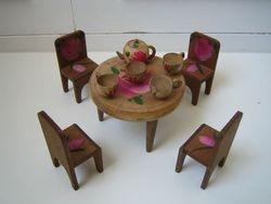 Handpainted wooden set