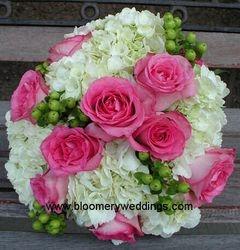 Claire & Eve's Wedding Bouquet