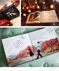 Engagement Pix Guest Book
