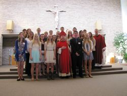 Confirmation 2013 with Bishop Banks
