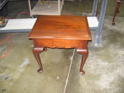 Herb Wofford--Queen Anne End Table