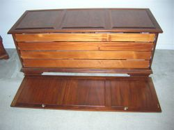 Herb Wofford-- Gun cabinet