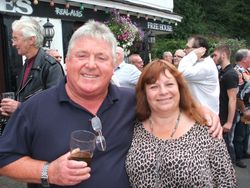 Jack Robinson and Wendy mellor
