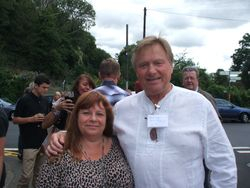 Eddie Hamill and Wendy Mellor
