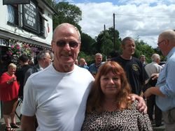 Johnny saint and Wendy Mellor