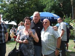 Bob and Wendy Barratt and Neil Evans