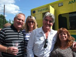 Tony Walsh Mark and Anne Hussey Wendy Mellor