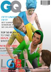 LGBT GQ Magazine 1