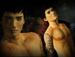 Fantasy Photo - Dark Angel Tobias