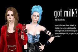 Got Milk Ad Campaign - Girls