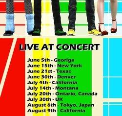 Tour Promotion - Colorful
